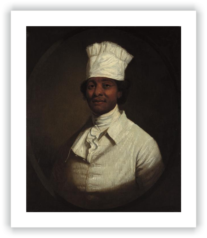 Portrait of George Washington's Cook