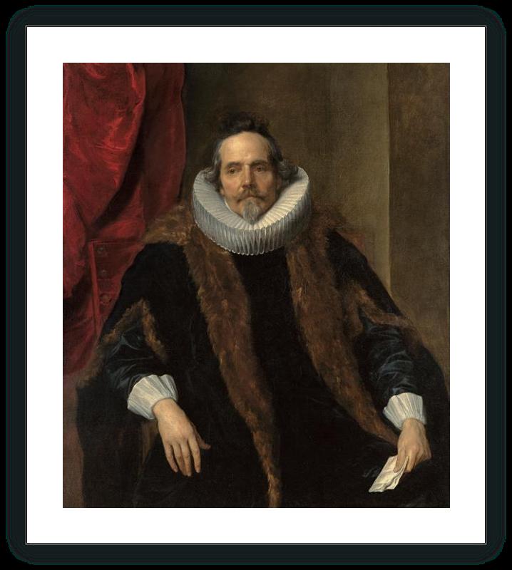 Portrait of Jacques Le Roy