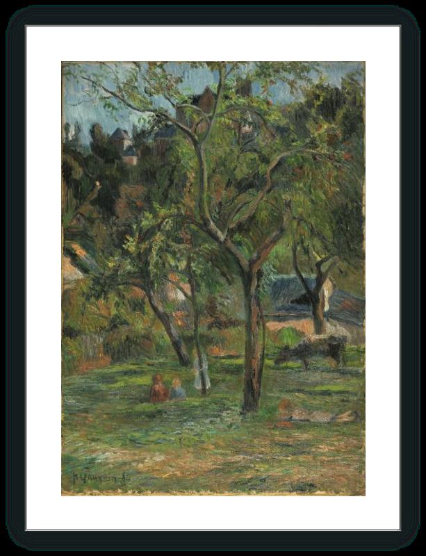An Orchard under the Church of Bihorel