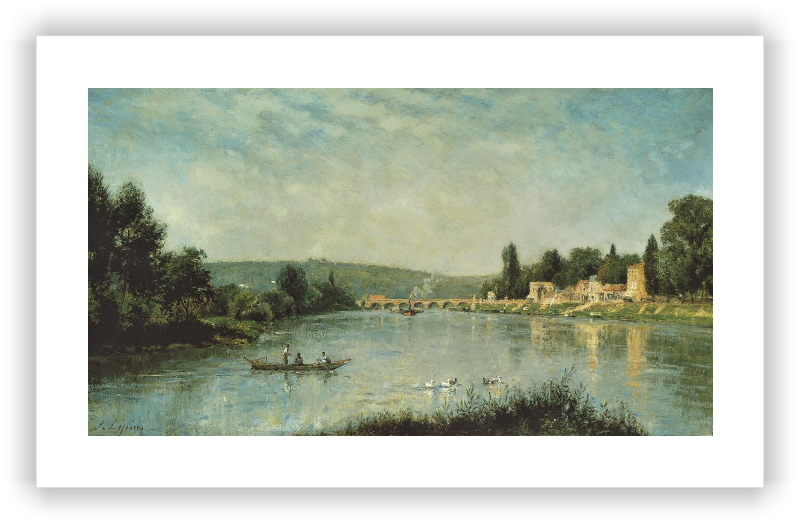 The Seine at the Pont de Sèvres