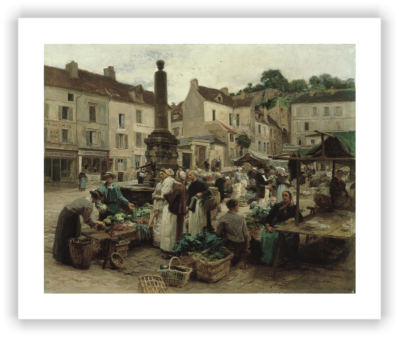 The Market at Château-Thierry