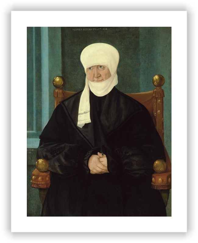Portrait of a Woman aged Fifty-seven