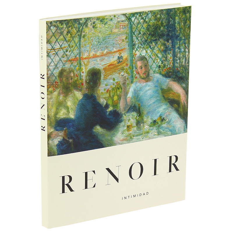 """Catalogue for the exhibition """"Renoir. Intimacy"""" (Spanish. Paperback)"""