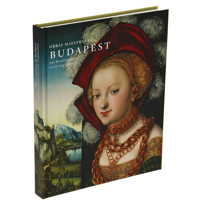 """""""Masterworks from Budapest"""" exhibition catalogue (Spanish, Hard Cover)"""
