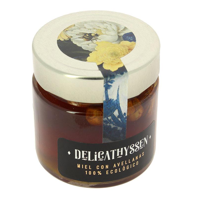 Ecologic certified honey with hazelnuts