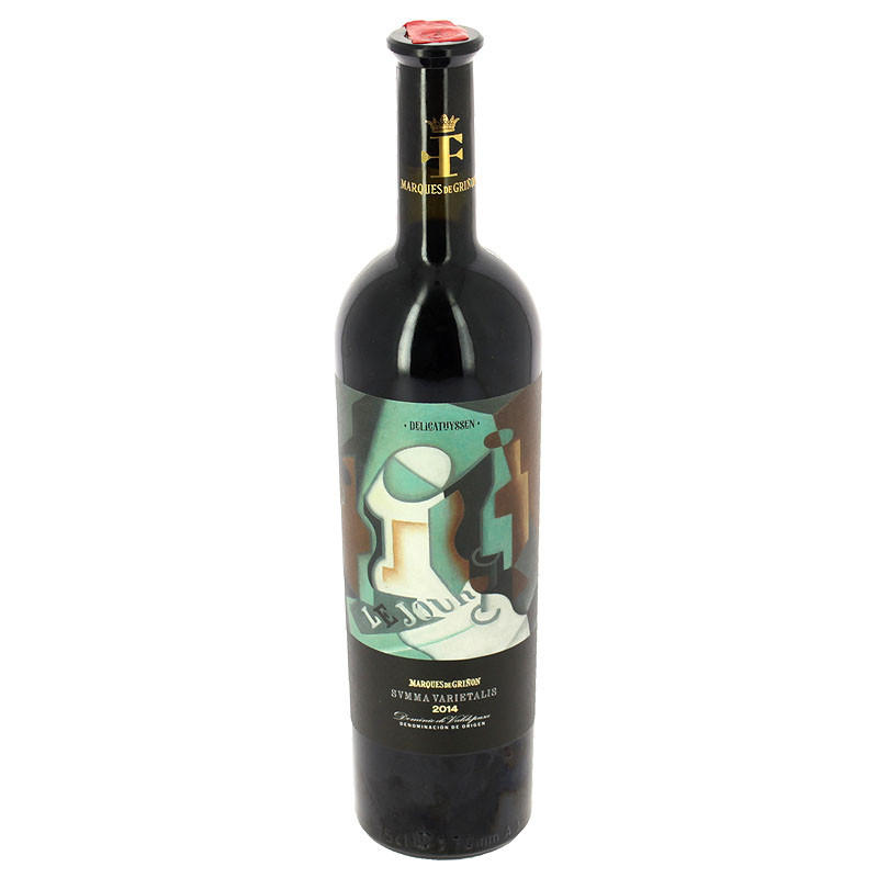 Red Wine Summa Varietalis 2014 Delicathyssen limited edition