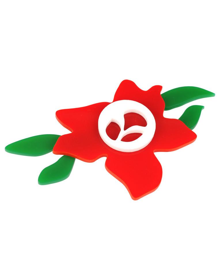 Flower Brooch Robert Delaunay
