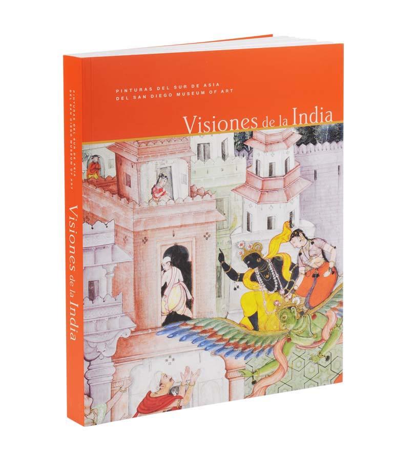 Catalogue of the exhibition Into India (Spanish+English Bilingual edition)