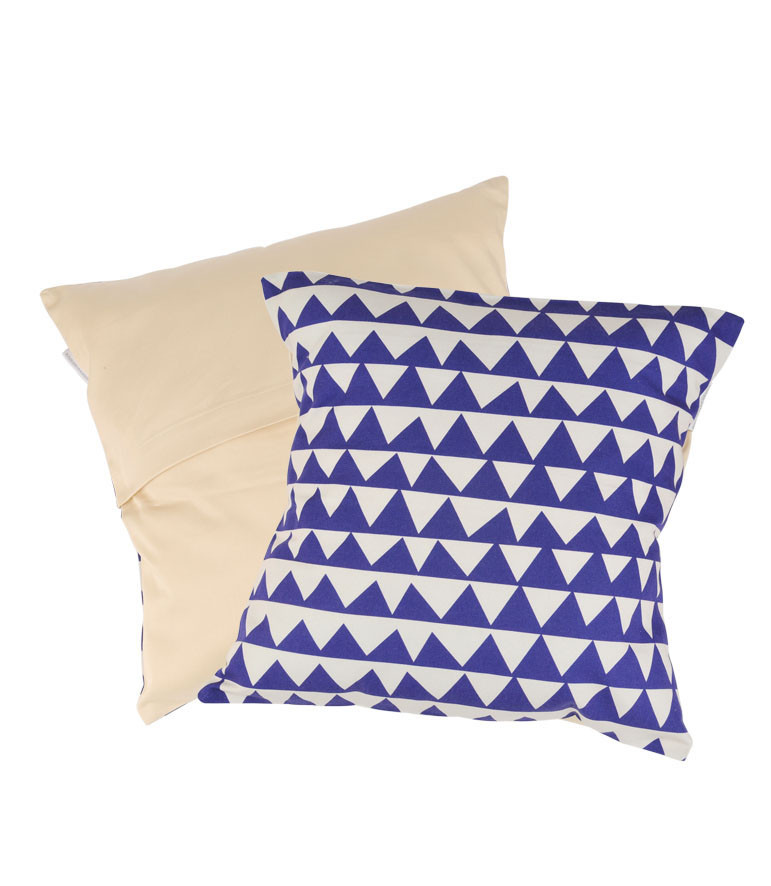 Triangles Cushion Cover Delaunay