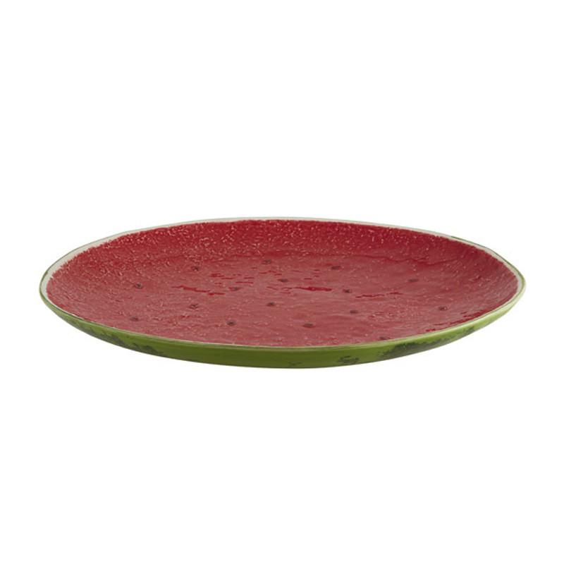Ceramic Watermelon Centerpiece