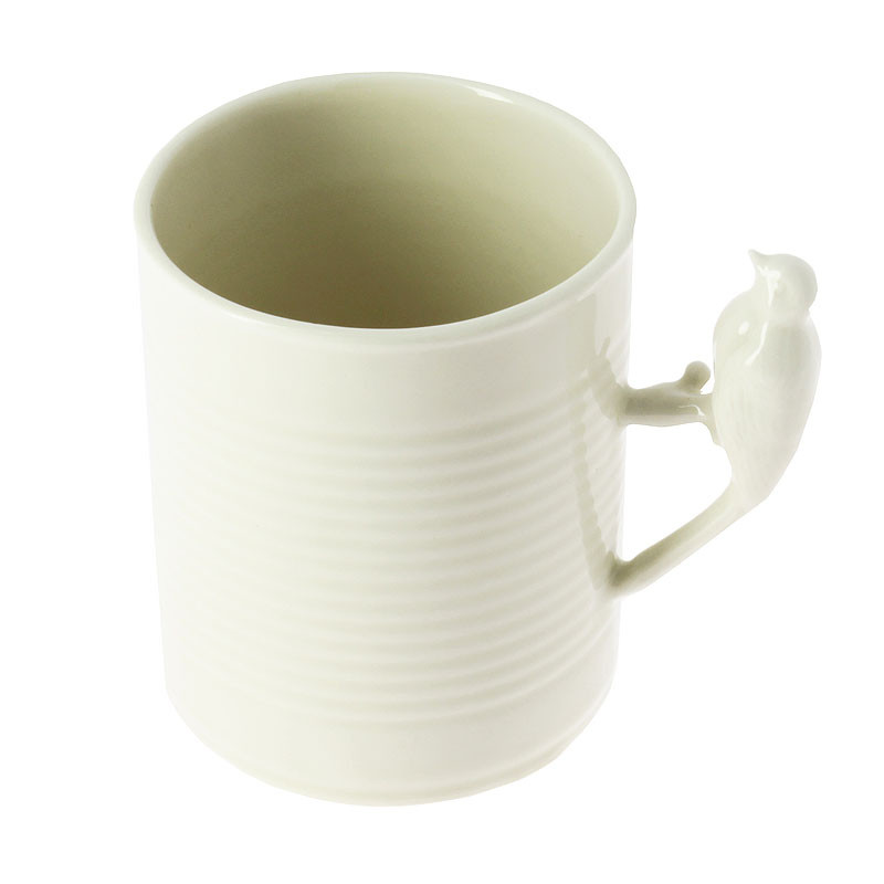 Carpaccio Porcelain Mug: Bird