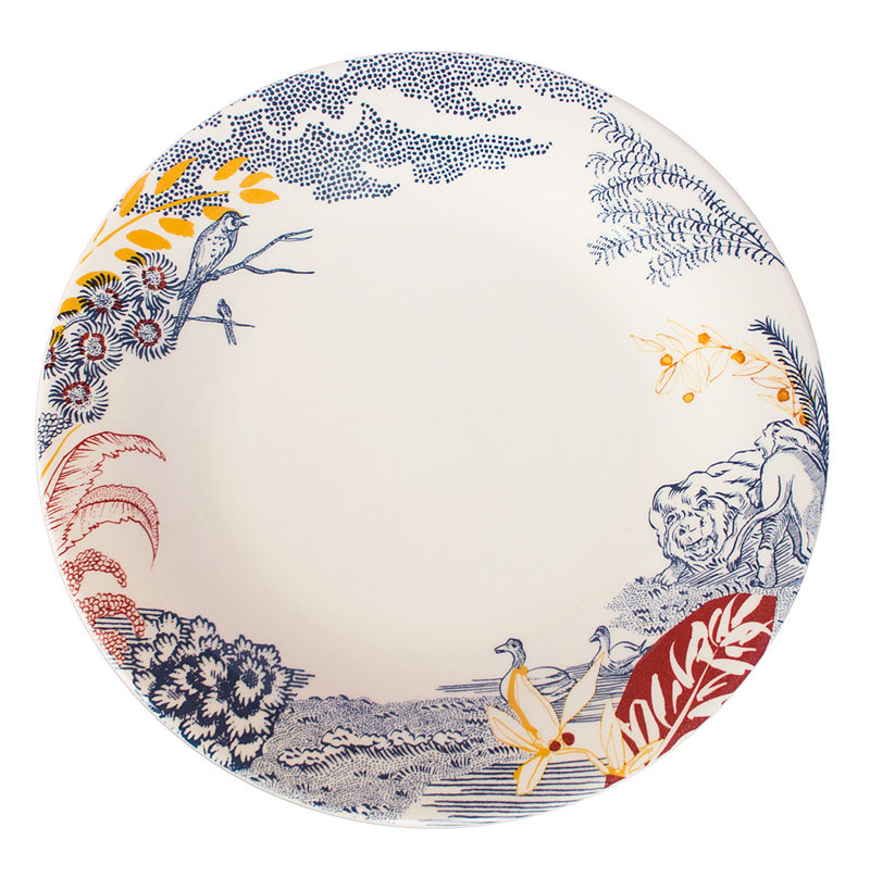 Cartuja x Garden of Eden Porcelain Dinner Plate