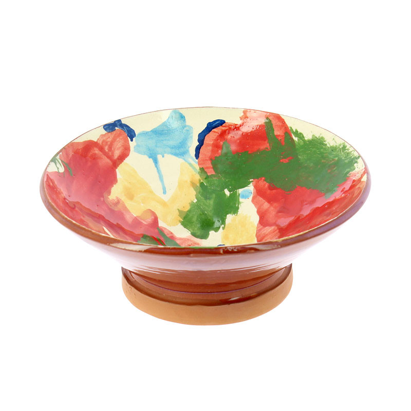 Small Bowl Red Man with Moustache by Kooning