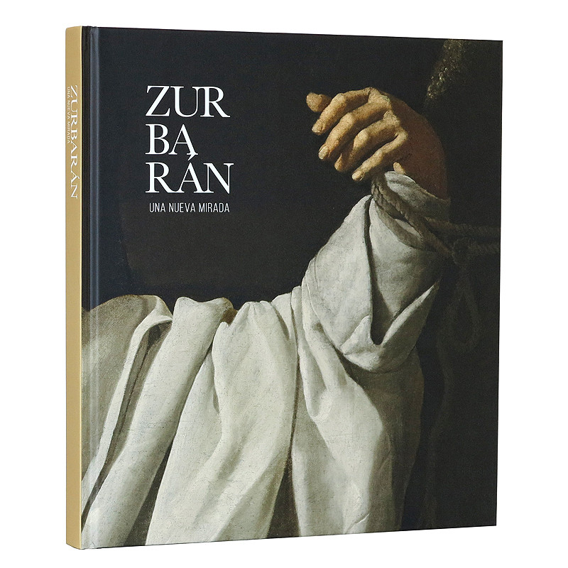 Catalogue for the exhibition Zurbarán, una nueva mirada. Spanish hardcover.