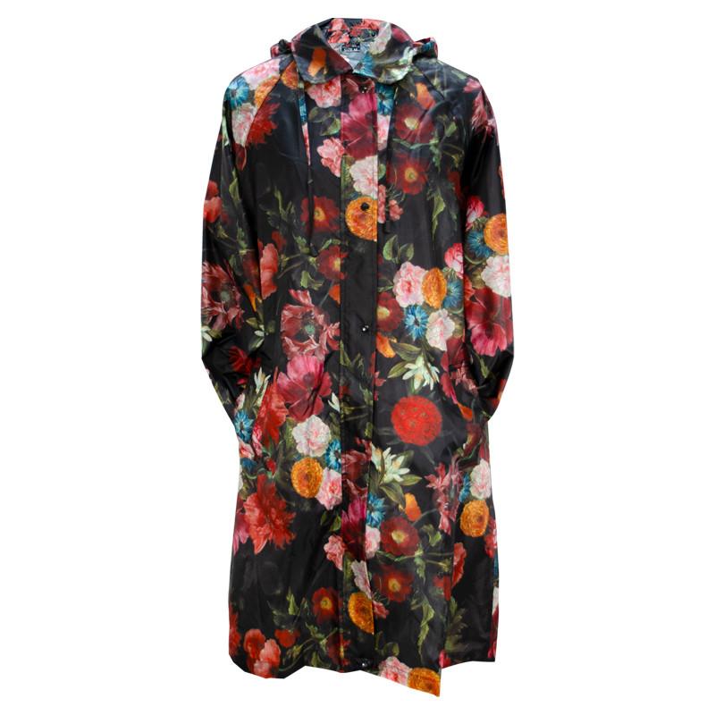 Jacques Linard's Flowers Raincoat