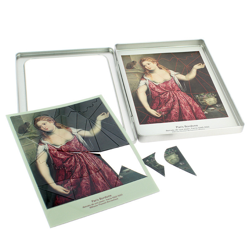 Magnetic game Portrait of a Young Woman