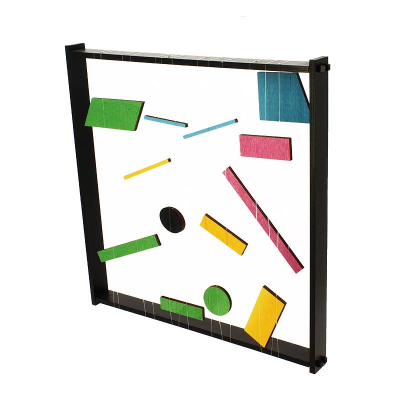 Dot and line wooden game Bortnyik