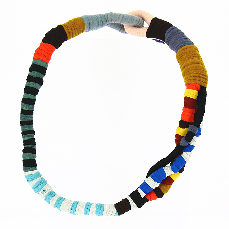 Necklace Simultaneous Dresses by Sonia Delaunay