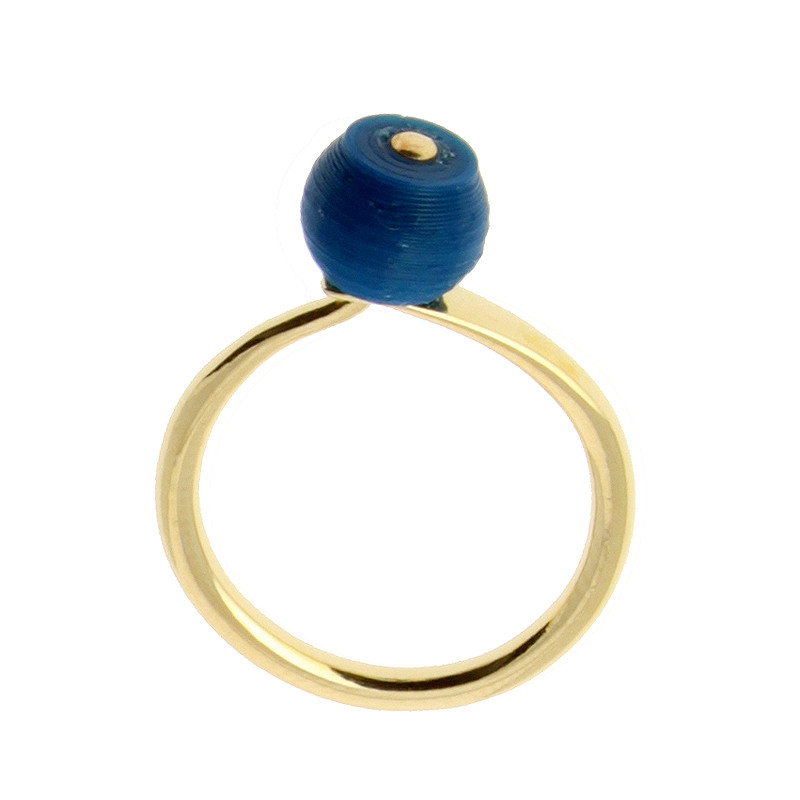 Sonia Delaunay's Blue Ring by Helena Rohner