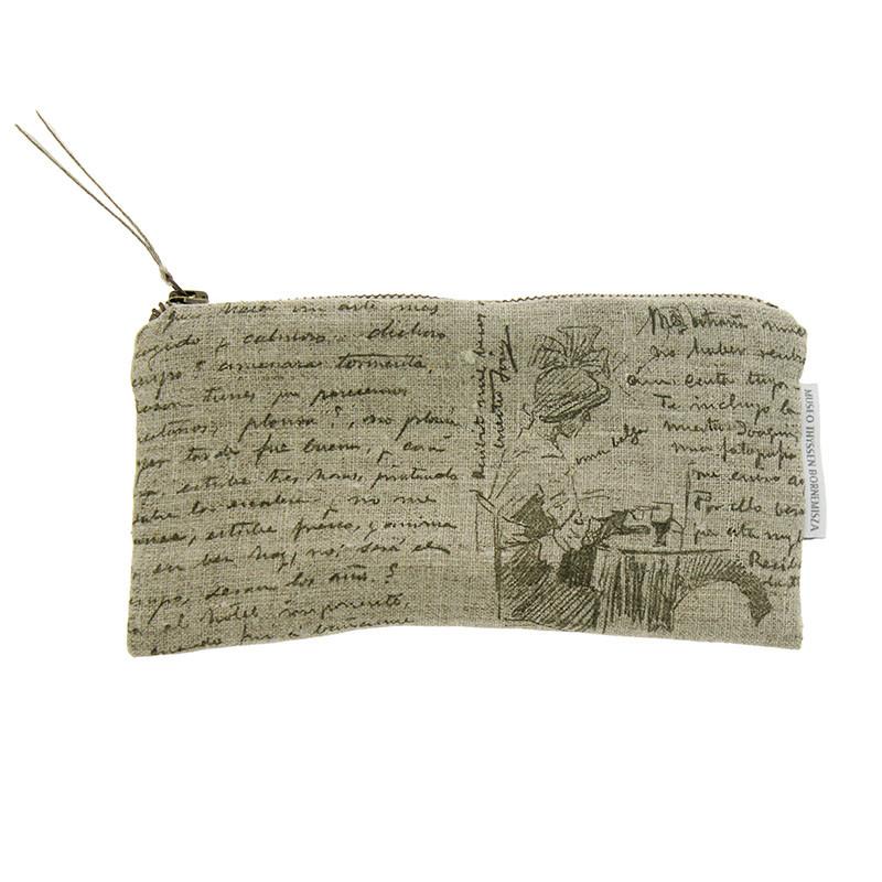 Sorolla to Clotilde Letter Linen Case