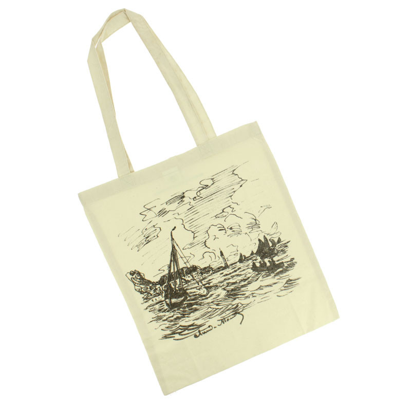 Monet: The Lighthouse Tote Bag