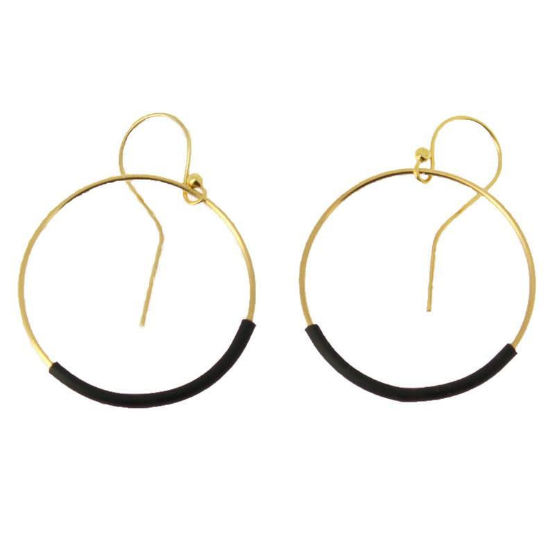 Small Taladradora Kupka Earring