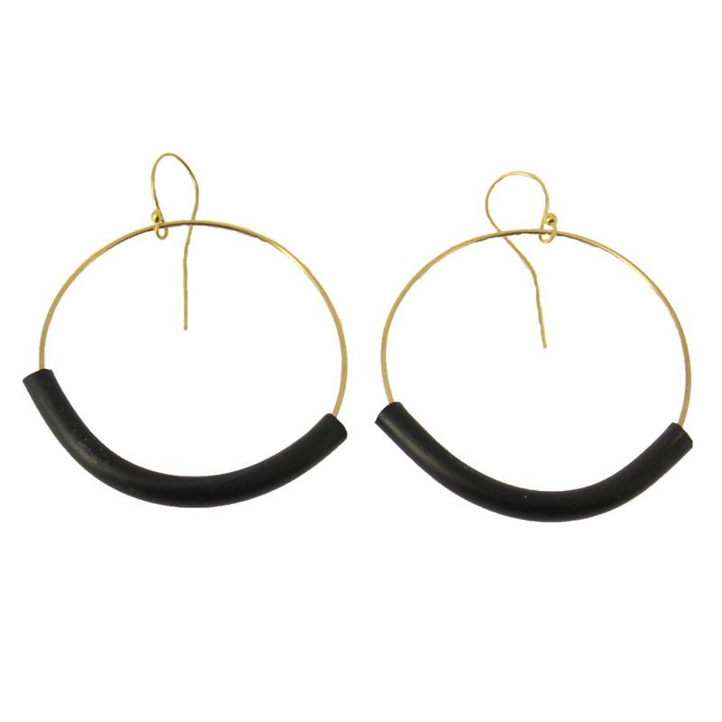 Big Taladradora Kupka Earring