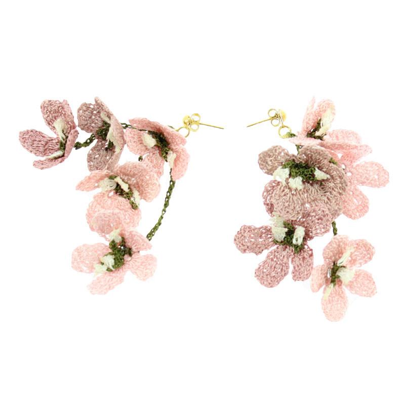 Pink Earring by Balenciaga