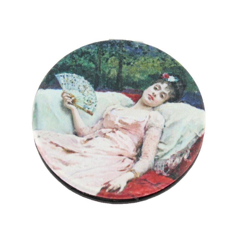 The Nap Cloth Mirror. Balenciaga