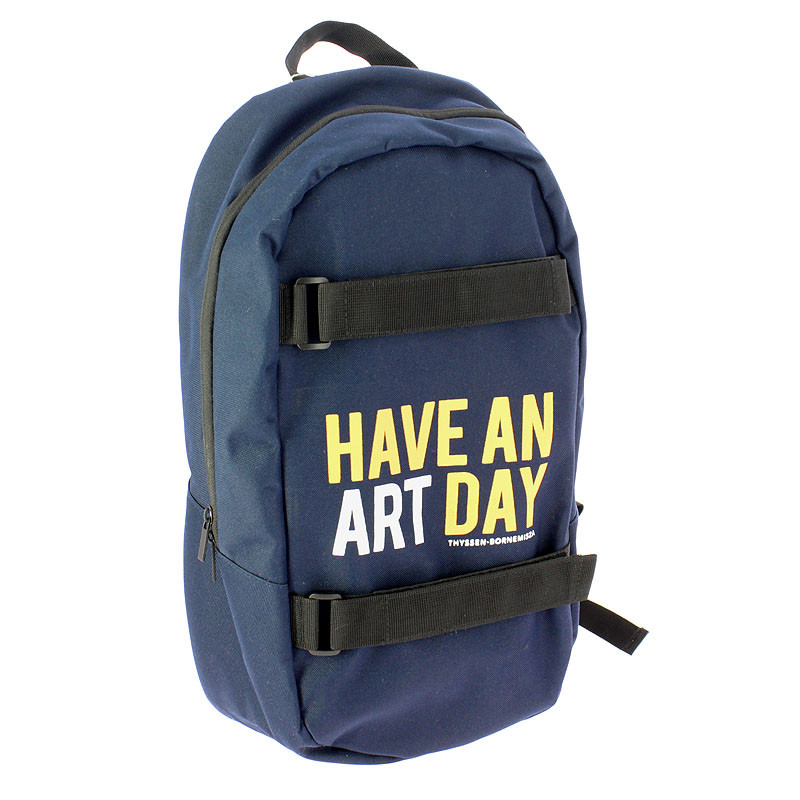 Have an Art Day Navy Blue Backpack