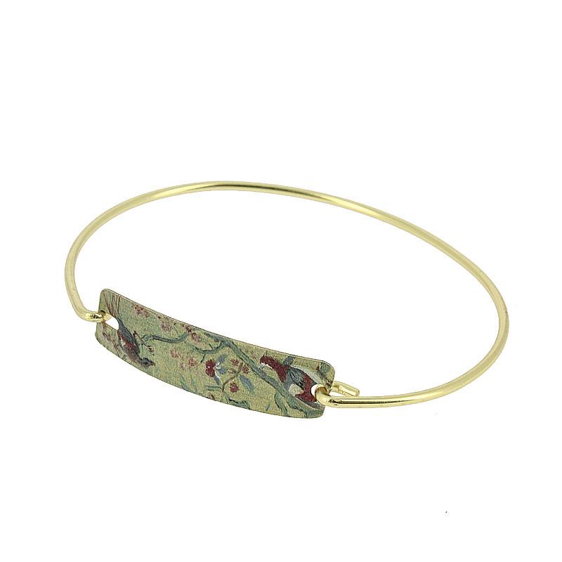 Boucher's La Toilette Brass Bracelet