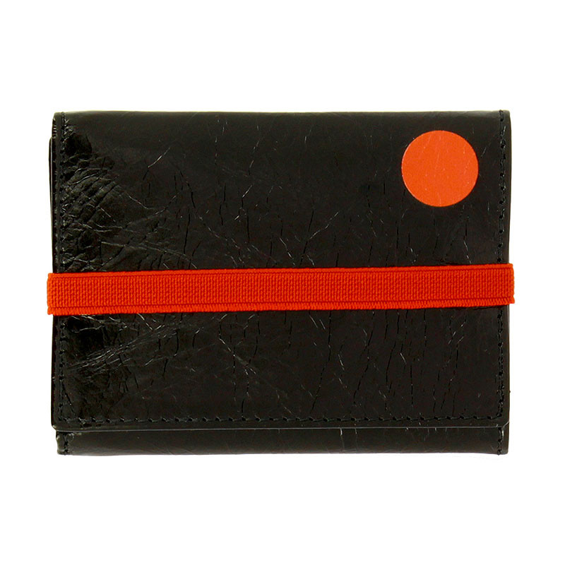 Schwitters Black Wallet