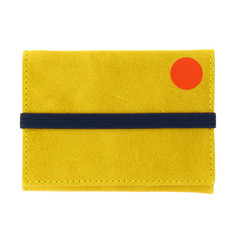 Schwitters Mustard Color Wallet