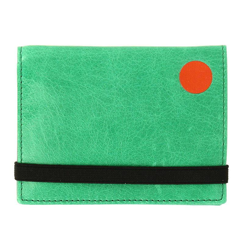 Schwitters Green/Grey Wallet