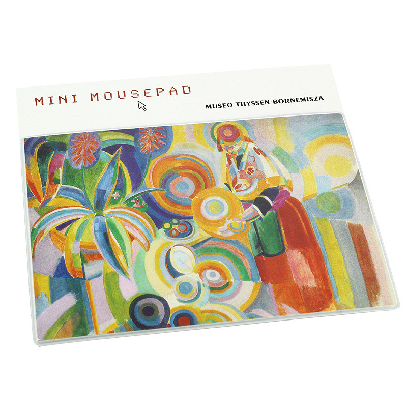 Mini mousepad Delaunay Portuguese Woman