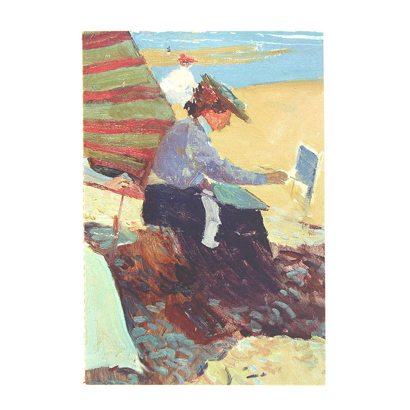 Sorolla's Under the Awning, Biarritz Notebook