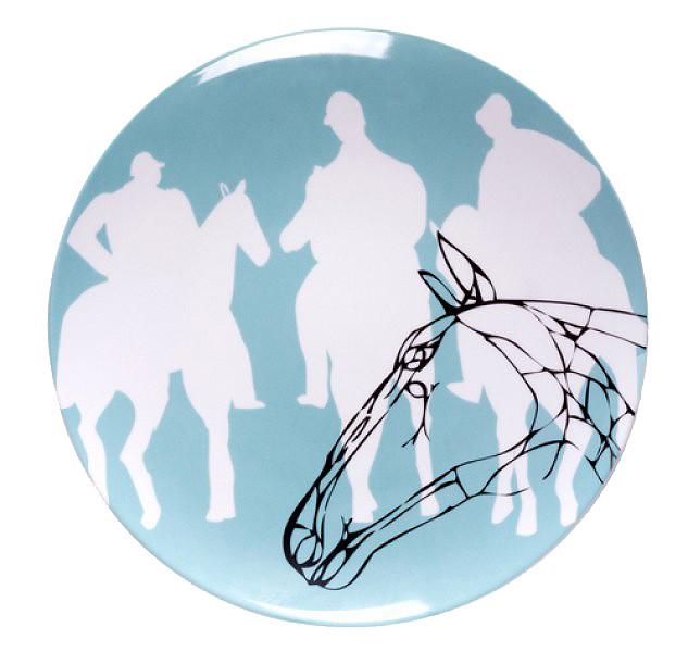 Porcelain Plate Degas