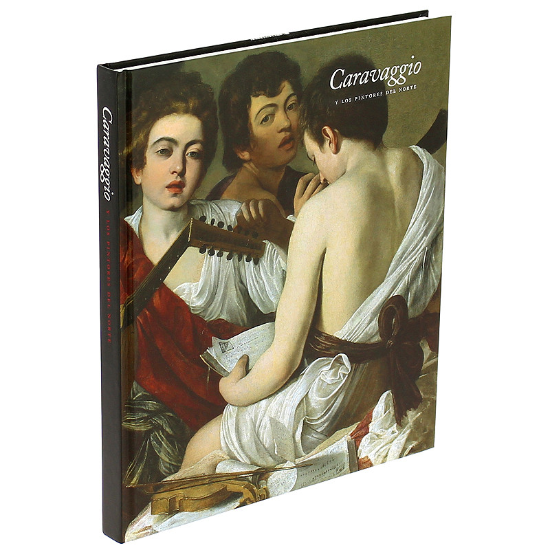 """Catalogue """"Caravaggio and the Painters of the North"""" (Spanish, Hardcover)"""