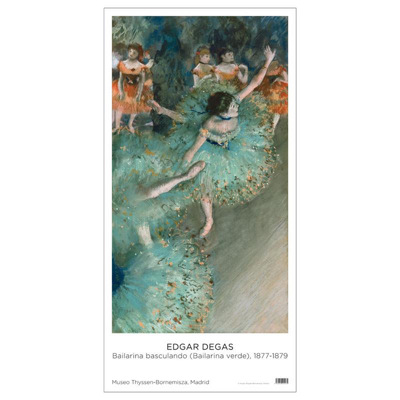 Poster Edgar Degas. Swaying Dancer, 1877-1879