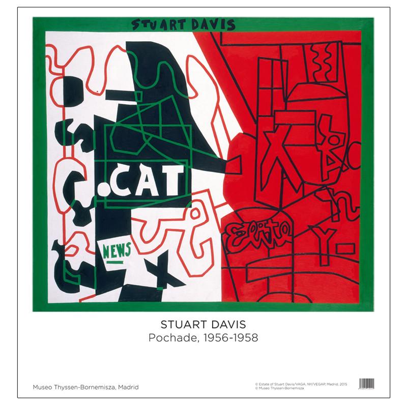 Poster Stuart Davis: Pochade