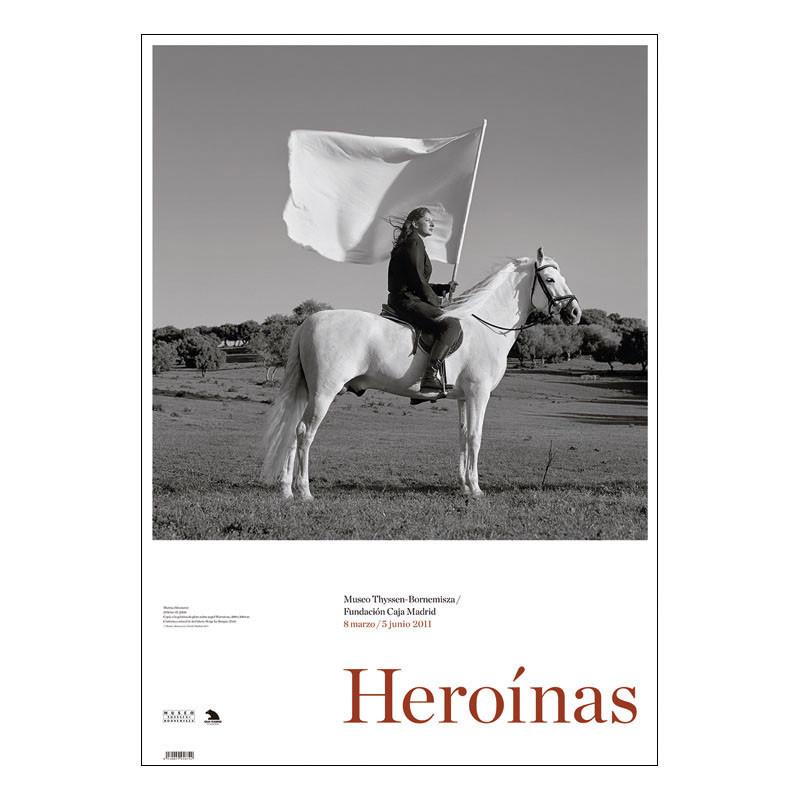 Poster The Hero II by Marina Abramovic