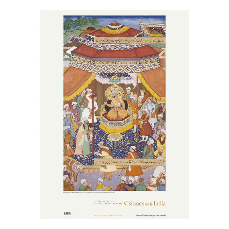 Poster Mangu Khan Judges the Rebels by Edwin Binney
