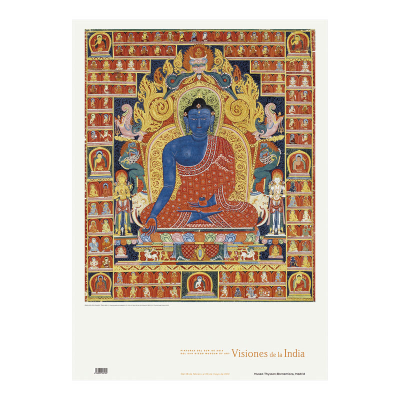 Poster Buddha the Supreme Healer by Edwin Binney