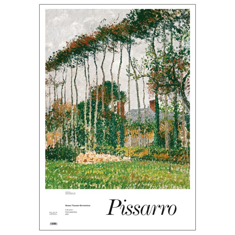 Poster Landscape in Varengeville of Camille Pissarro