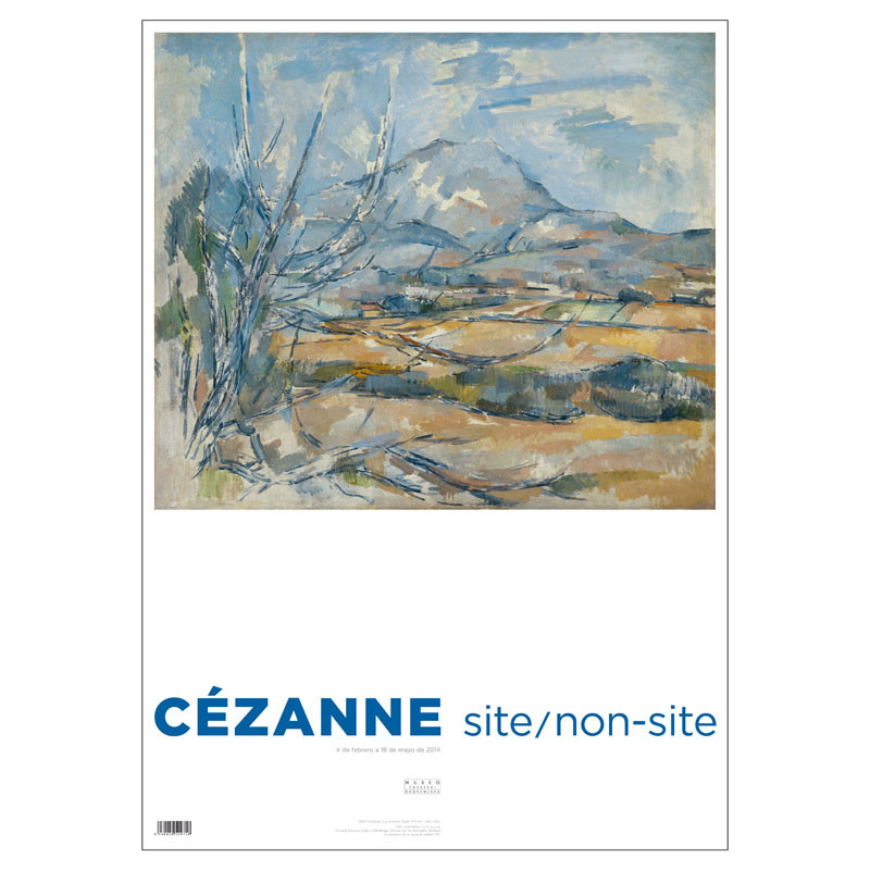 Poster Cezanne: La Montaña Saint-Victorie