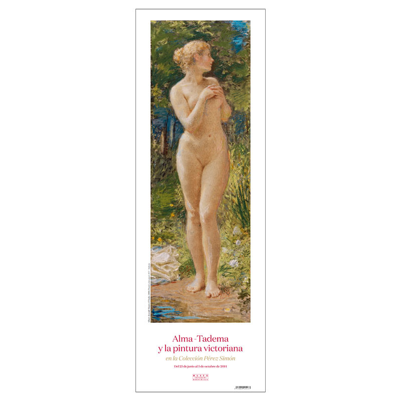 Poster El Baño: Alma-Tadema y la Pintura Victoriana en la Colección Pérez Simón
