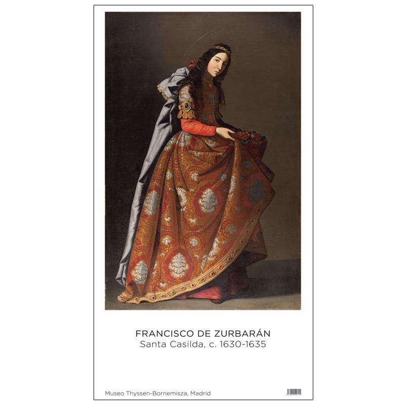 Poster Zurbarán: Saint Casilda