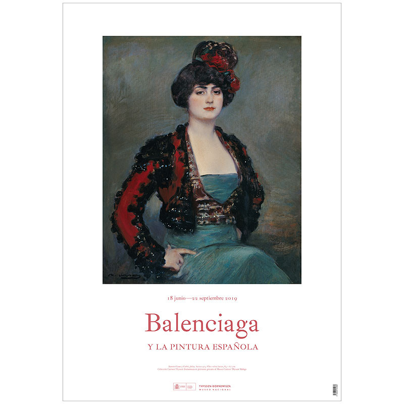 "Balenciaga and Spanish Painting ""Julia"" exhibition poster"