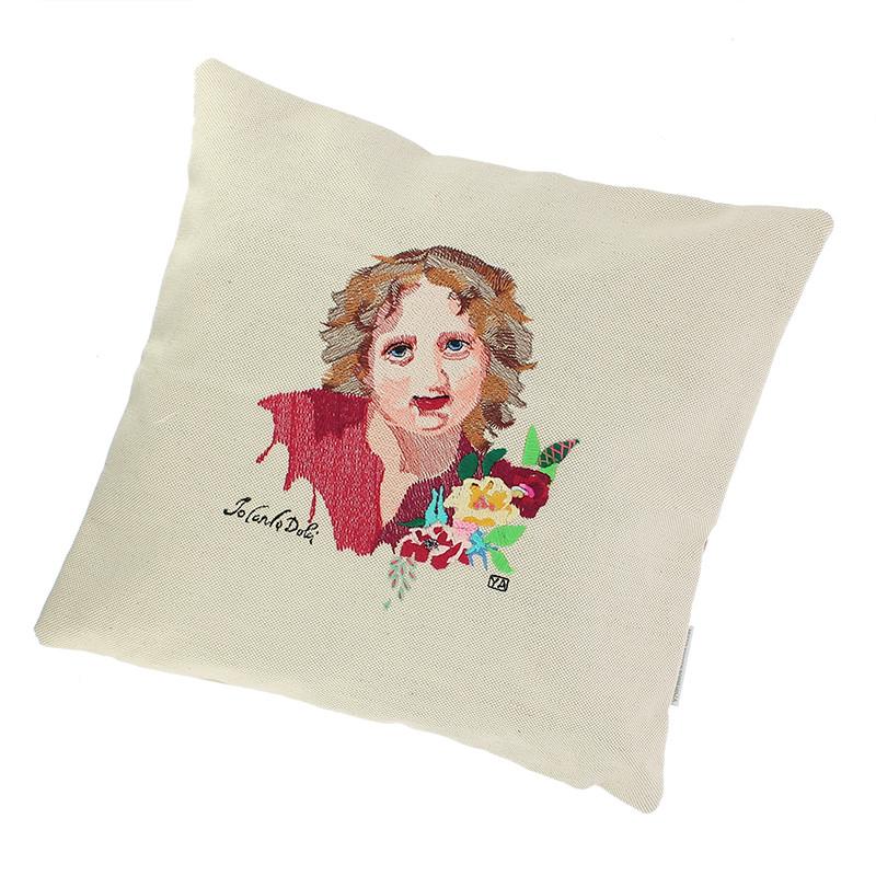 Embroidery Cushion Sleeve Boy