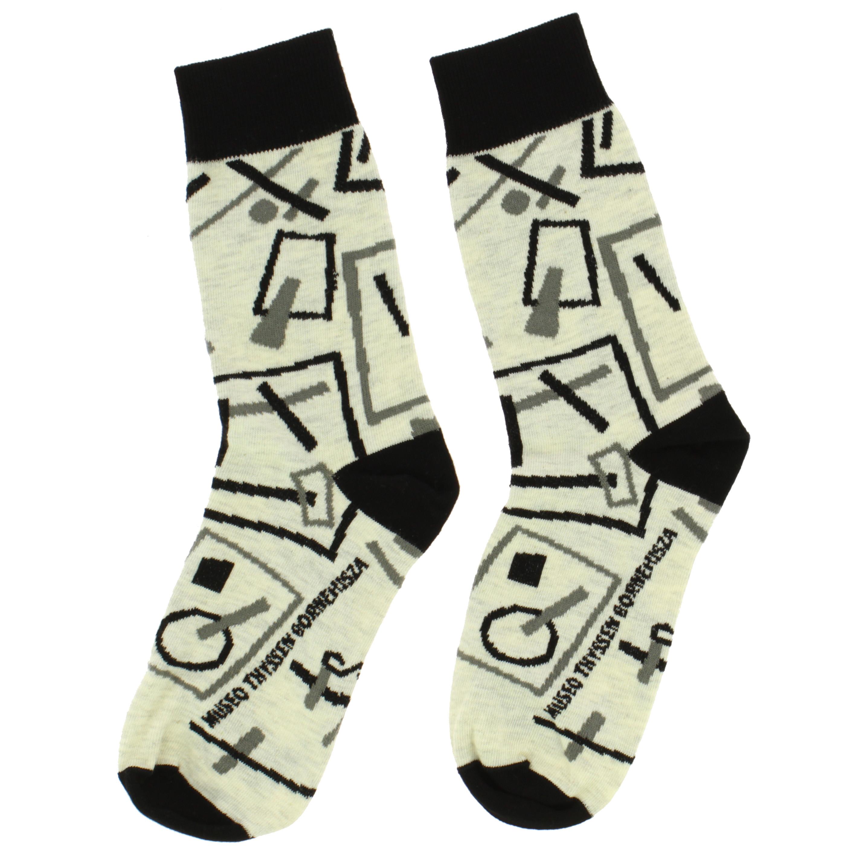 Socks Malévich Suprematist Drawings